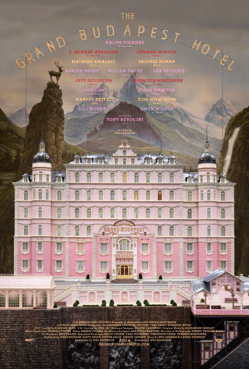 "Poster for ""The Grand Budapest Hotel"""